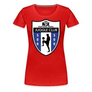 Women's ROX Juggle Club - 500 - Women's Premium T-Shirt