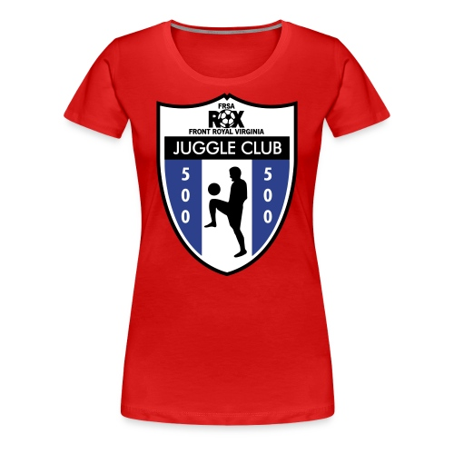 Women's ROX Juggle Club - 500 - Women's Premium T-Shirt