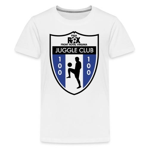 Kid's ROX Juggle Club - 100 - Kids' Premium T-Shirt