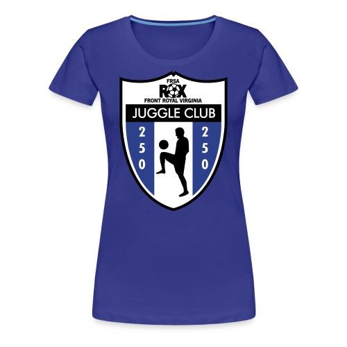 Women's ROX Juggle Club - 250 - Women's Premium T-Shirt