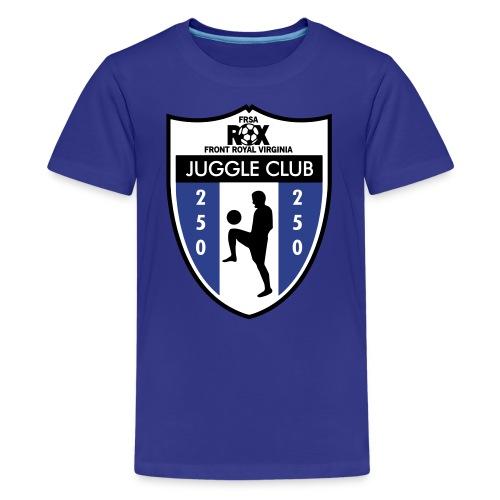 Kid's ROX Juggle Club - 250 - Kids' Premium T-Shirt