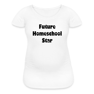 Maternity Homeschool Shirt - Women's Maternity T-Shirt