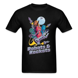 Robots & Rockets (Mens) - Men's T-Shirt