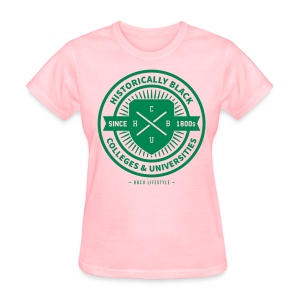 Historically Black - Women's Pink and Green T-shirt - Women's T-Shirt