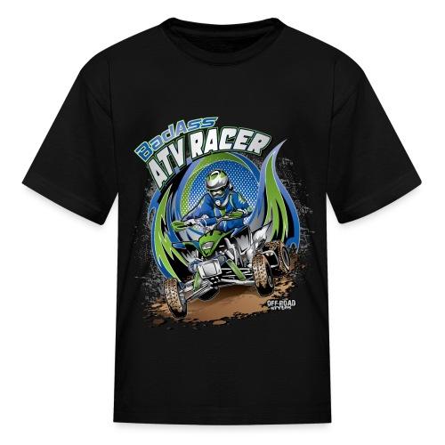 Badass ATV Racer - Kids' T-Shirt