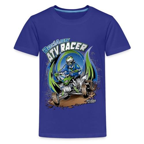 Badass ATV Racer - Kids' Premium T-Shirt