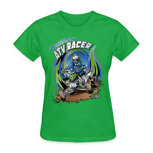 Badass ATV Racer - Women's T-Shirt