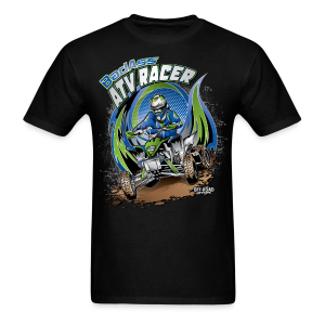 Badass ATV Racer - Men's T-Shirt
