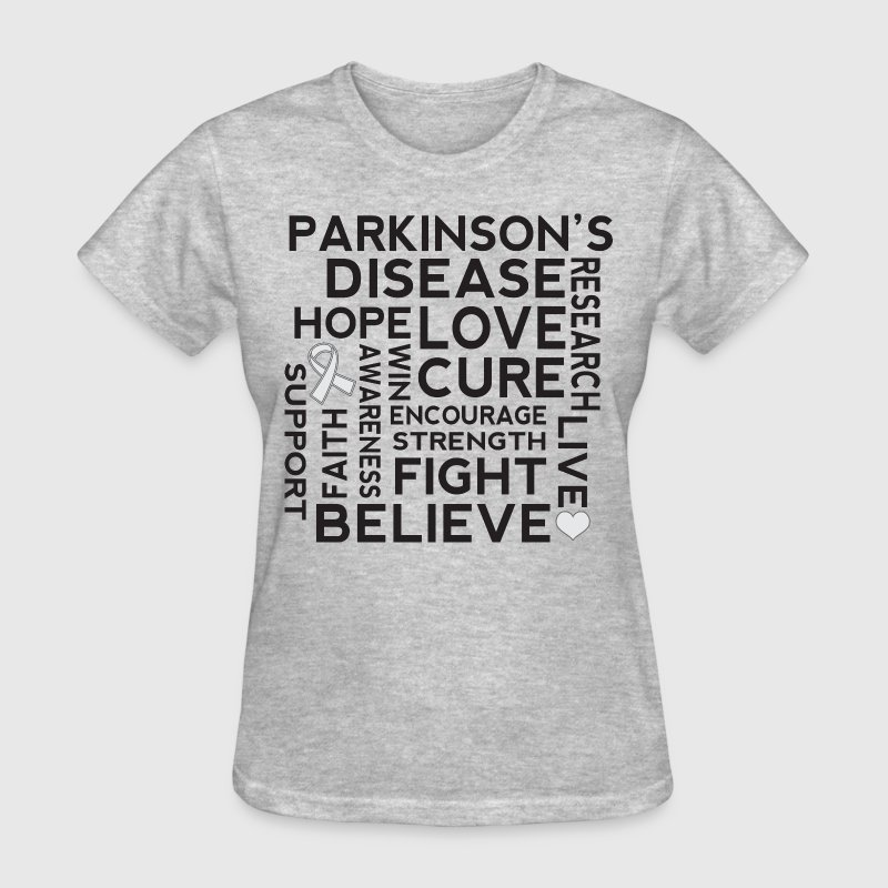 Parkinsons Disease awareness Women's T-Shirts - Women's T-Shirt