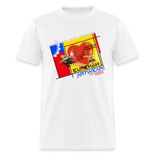 CHILDHOOD HEROES - front print - s/xxl - Men's T-Shirt