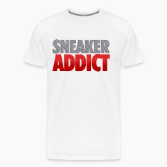 sneaker addict speckled T-Shirts
