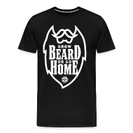 T-Shirts ~ Men's Premium T-Shirt ~ GROW BEARD...