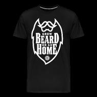 T-Shirts ~ Men's Premium T-Shirt ~ GROW BEARD...
