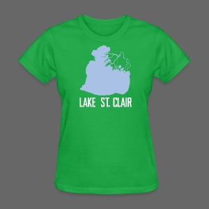 Just Lake St. Clair - Women's T-Shirt