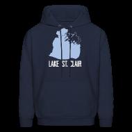Hoodies ~ Men's Hoodie ~ Just Lake St. Clair