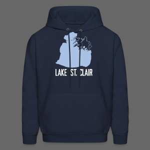 Just Lake St. Clair - Men's Hoodie