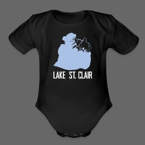 Just Lake St. Clair - Short Sleeve Baby Bodysuit