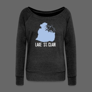 Just Lake St. Clair - Women's Wideneck Sweatshirt