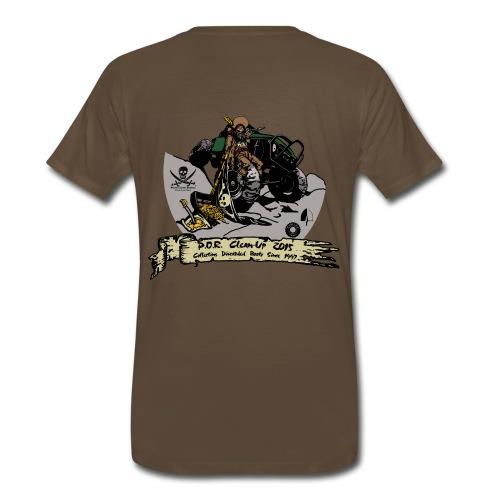 2015 Cleanup Men's T-Shirt - Men's Premium T-Shirt