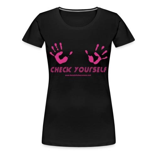Check Yourself Premium - Women's Premium T-Shirt