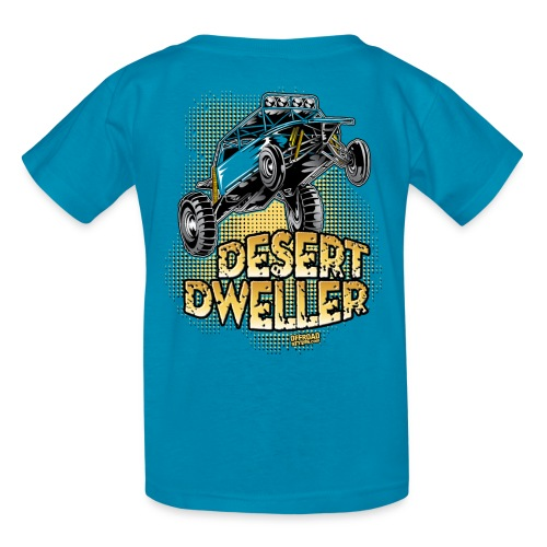 Desert Dweller Buggy BACK - Kids' T-Shirt