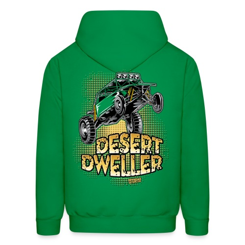 Desert Dweller Buggy BACK - Men's Hoodie