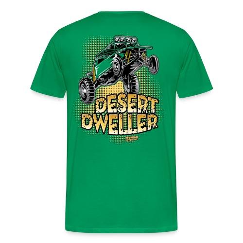 Desert Dweller Buggy BACK - Men's Premium T-Shirt