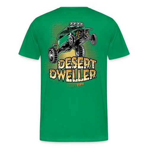 Desert Dweller Buggy BACK - Men's Premium T-Shirt