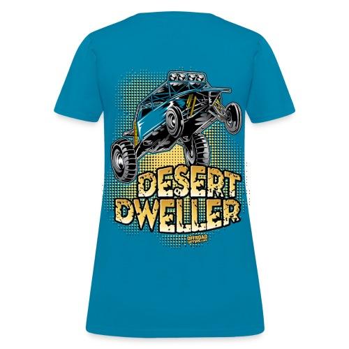 Desert Dweller Buggy BACK - Women's T-Shirt