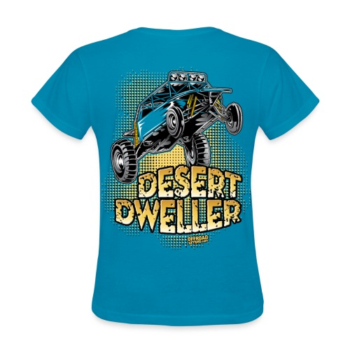 Desert Dweller Buggy BACK - Women's T-Shirt