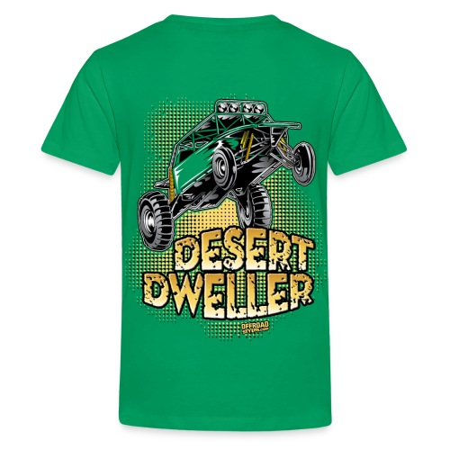 Desert Dweller Buggy BACK - Kids' Premium T-Shirt
