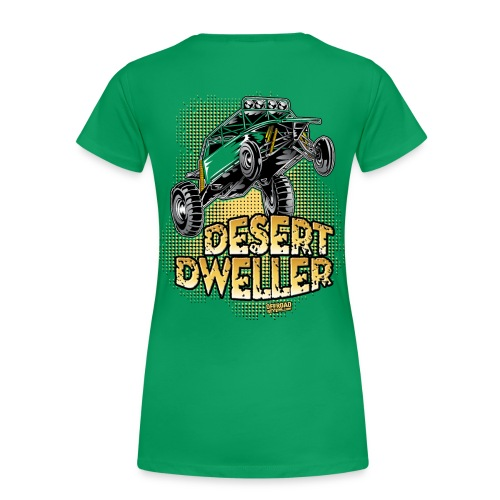 Desert Dweller Buggy BACK - Women's Premium T-Shirt