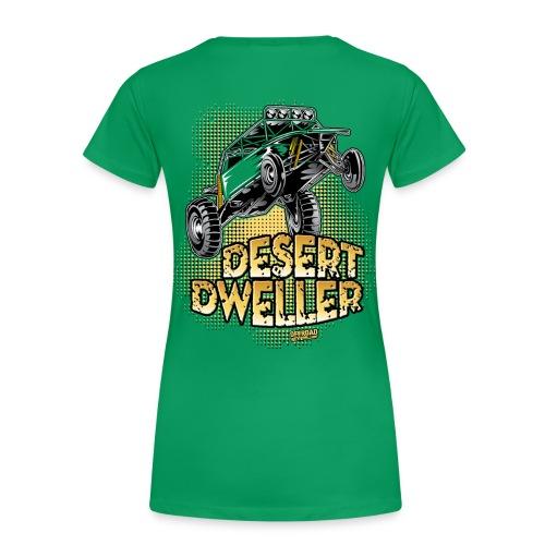 Desert Dweller Buggy BACK - Women's Premium T-Shirt