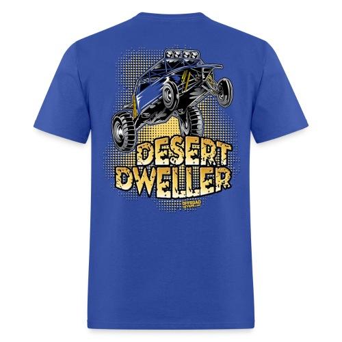 Desert Dweller Buggy BACK - Men's T-Shirt
