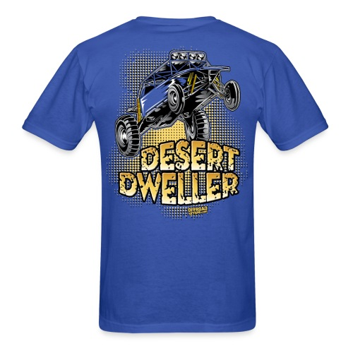 Desert Dweller Buggy BACK - Men's T-Shirt