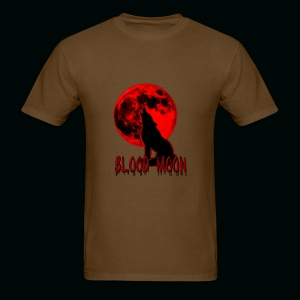 Blood Moon Wolf - Men's T-Shirt