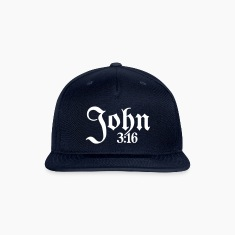 John 3:16 Snap-back Baseball Cap