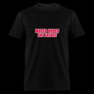 T-Shirts ~ Men's T-Shirt ~ WATER UNDER THE FRIDGE