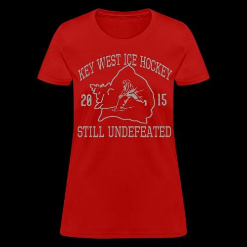 Conch Hockey Women's Red - Women's T-Shirt