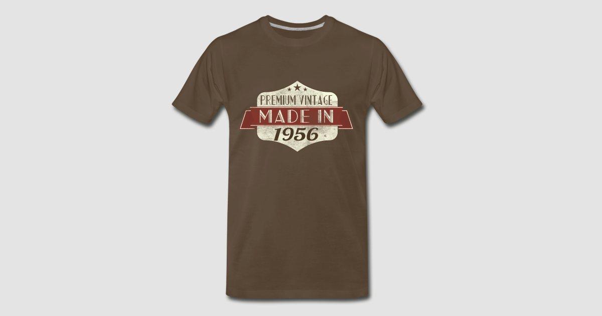 Vintage 1956 60th Birthday T Shirts