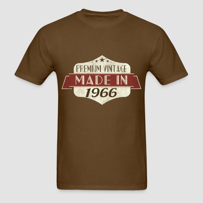 Vintage 1966 50th Birthday T Shirts