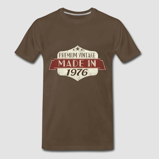 Vintage 1976 40th Birthday T Shirts