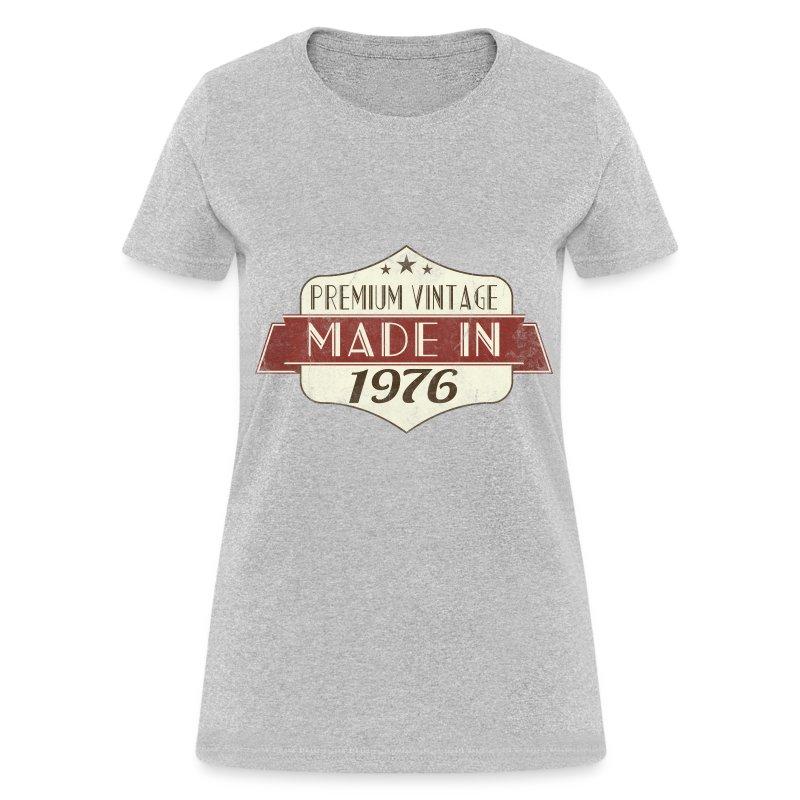 vintage 1976 40th birthday women 39 s t shirts women 39 s t shirt. Black Bedroom Furniture Sets. Home Design Ideas