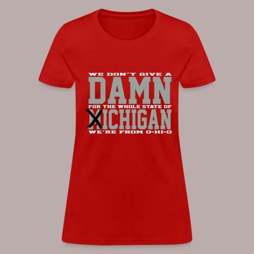 Damn Fich Ladies Tee - Women's T-Shirt