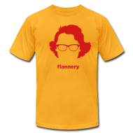 T-Shirts ~ Men's T-Shirt by American Apparel ~ [flannery_o_connor]