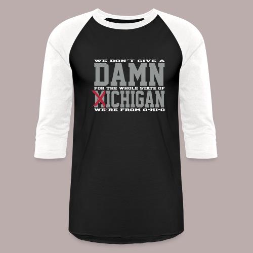 Damn Fich XLT 3/4 Tee - Baseball T-Shirt