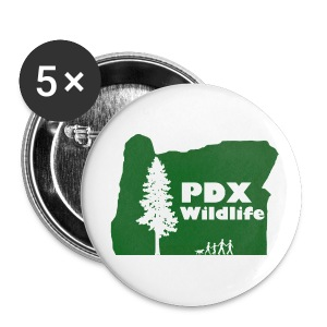 PDXWildlife Logo button - Large Buttons