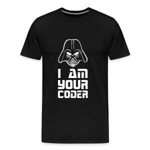 I am your coder - Men's Premium T-Shirt