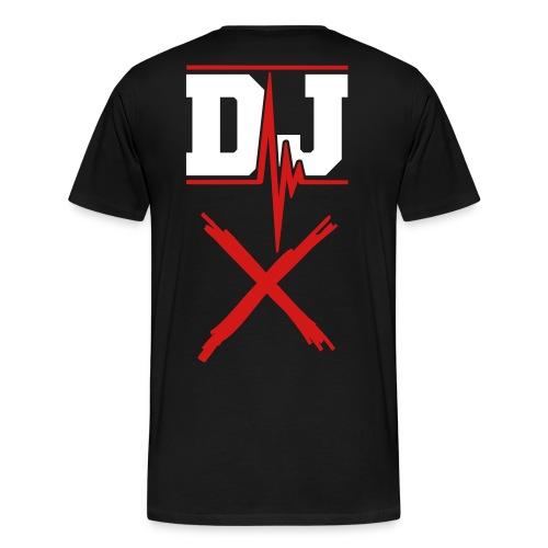 DJ X T-Shirt - Men's Premium T-Shirt