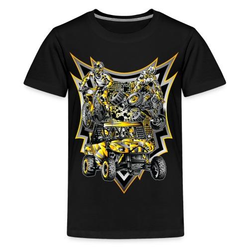 Extreme Off-Road Life - Kids' Premium T-Shirt